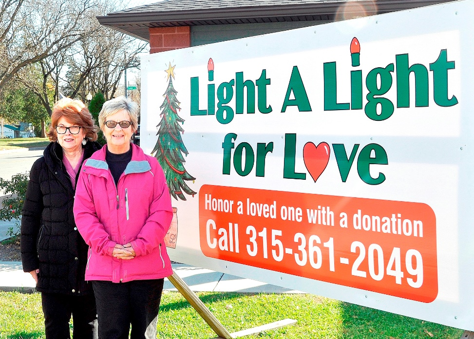 Oneida Health Auxiliary Light a Light for Love 2020